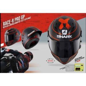 バイク ヘルメット フルフェイス シャーク レースR-プロ GP ウインターテスト仕様 限定 ヨハン・ザルコ レプリカ|vio0009