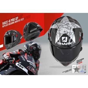 バイク ヘルメット フルフェイス シャーク レースR-プロ GP ウインターテスト仕様 限定 スコット・レディング レプリカ|vio0009