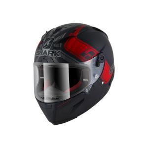 バイク ヘルメット フルフェイス シャーク レースR-プロ ヨハン・ザルコ レプリカ フランスGPマットブラック|vio0009