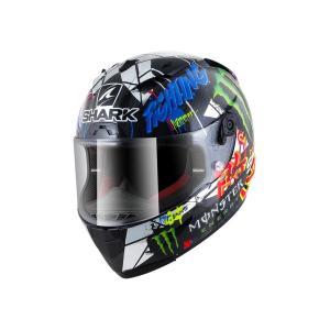 バイク ヘルメット フルフェイス シャーク レースR-プロ カーボン ホルヘ・ロレンゾ レプリカ 限定品 カタルニアGP|vio0009