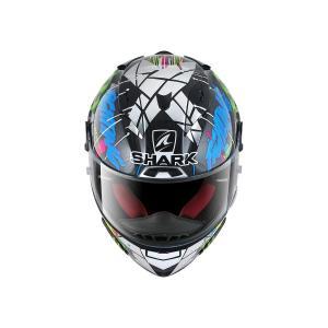 バイク ヘルメット フルフェイス シャーク レースR-プロ カーボン ホルヘ・ロレンゾ レプリカ 限定品 カタルニアGP|vio0009|03