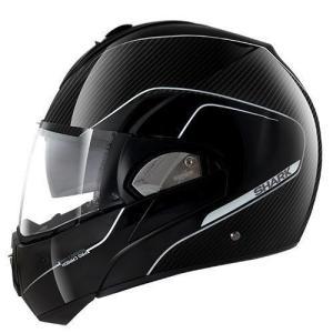 バイク ヘルメット フルフェイス シャーク EVOライン プロ カーボン ブラック|vio0009