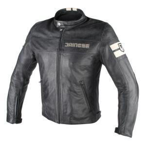 バイク レザージャケット ダイネーゼ HF-D1 ブラック/アイス|vio0009