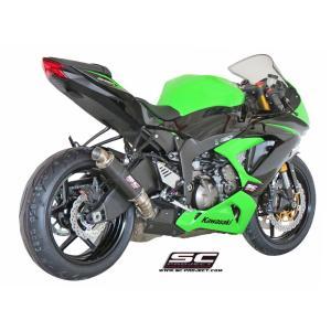 バイク マフラー SCプロジェクト カワサキ ZX6-R 636 13- GP-M2 サイレンサー スリップオン・システム|vio0009