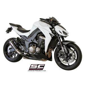 バイク マフラー SCプロジェク カワサキ Z1000 2014- コニカル・カーボン スリップオン|vio0009|03