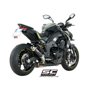 バイク マフラー SCプロジェク カワサキ Z1000 2017- GP-M2 カーボンサイレンサー スリップオン|vio0009