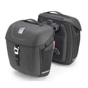 バイク サイドバッグ パニア GIVI ジヴィ 拡張型サイドバッグ 左右セット|vio0009