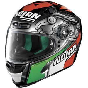 バイク ヘルメット フルフェイス ノラン / X-ライト X-803 マルコ・メランドリ レプリカ|vio0009