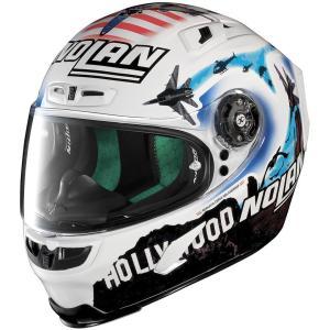 バイク ヘルメット フルフェイス ノラン / X-ライト X-803 マルコ・メランドリ USA レプリカ|vio0009