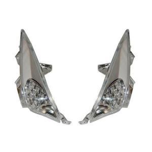 【LEDウインカー】 One-Italia ヤマハ T-max500 08-11|vio0009