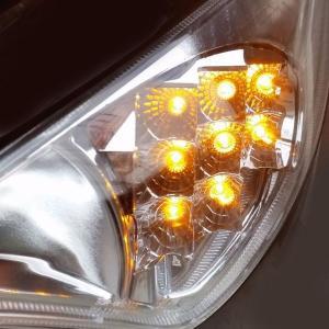 【LEDウインカー】 One-Italia ヤマハ T-max500 08-11 vio0009 03