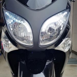 【LEDウインカー】 One-Italia ヤマハ T-max500 08-11 vio0009 04