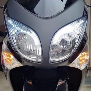 【LEDウインカー】 One-Italia ヤマハ T-max500 08-11 vio0009 05