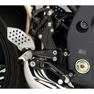 バイク バックステップ RIZOMA リゾマ Rev トライアンフ スピードトリプル 97-10|vio0009