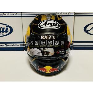 アライ バイク ヘルメット フルフェイス RX−7X ペドロサ サムライ・スピリッツ + レッドブル vio0009 03