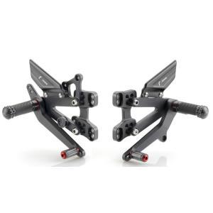 バイク バックステップ RIZOMA リゾマ RRC スズキ GSX-R1000 09-16 GSX-R600/750 11-|vio0009