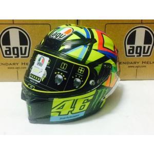 バイク ヘルメット AGV ピスタ GP-R ソーレ・ルナ 2016 ロッシ レプリカ|vio0009