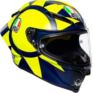 バイク ヘルメット AGV ピスタ GP-R SoleLuna ソーレルナ 2018 ロッシ レプリカ|vio0009