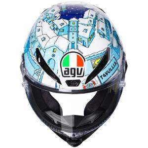 バイク ヘルメット AGV ピスタ GP-R ウインターテスト 2017 ロッシ タブリア レプリカ カラーシールド付き|vio0009