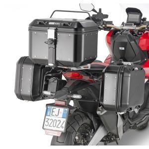 バイク バッグ パニアケース GIVI ホンダ X-ADV GIVI社製 モノキー ケース用ホルダー 1156FZ 併用|vio0009