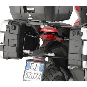 バイク バッグ パニアケース GIVI ホンダ X-ADV GIVI社製 モノキー ケース用ホルダー 純正リアキャリア 併用|vio0009