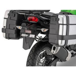 イタリア GIVI社のパニアステー カワサキ ベルシス-X 300 に適合   *写真のパニアケース...
