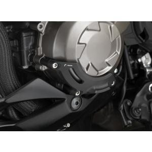 バイク エンジンガード RIZOMA リゾマ スライダー 左用 カワサキ  Z1000 10-|vio0009
