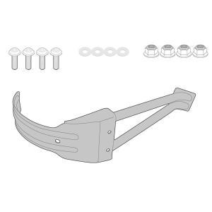 バイク リアフェンダー GIVI ホンダ X-ADV スプラッシュガード 取り付けキット|vio0009