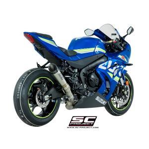 バイク マフラー SCプロジェク スズキ GSX-R 1000 '17 S1・チタンサイレンサー スリップオン・システム|vio0009