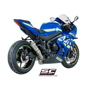 バイク マフラー SCプロジェク スズキ GSX-R 1000 '17 GP70-R・サイレンサー スリップオン・システム|vio0009