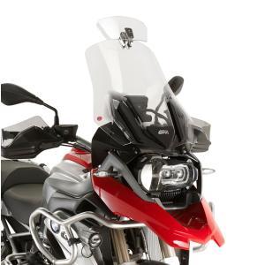 バイク スクリーン 汎用 GIVI 可変 補助スポイラー クリア|vio0009|02