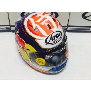 アライ バイク ヘルメット フルフェイス RX−7X ペドロサ サムライ レプリカ + レッドブル ステッカー|vio0009