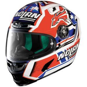 バイク ヘルメット フルフェイス ノラン / X-ライト X-803 ケーシー・ストーナー レプリカ|vio0009