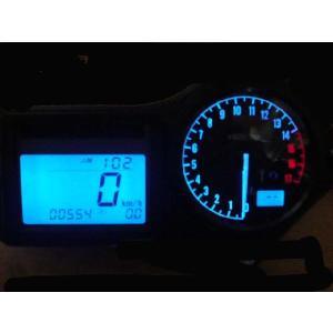 CBR600F4i メーター照明 ブルー|vio0009