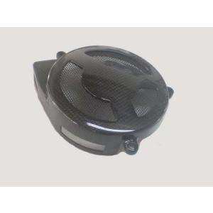 バイク エンジンカバー ホンダ NSR250 カーボン製乾式クラッチカバー|vio0009
