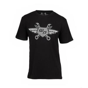レンチレーサー ロゴ T−シャツ ブラック vio0009