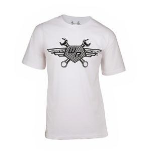 レンチレーサー ロゴ T−シャツ ホワイト vio0009