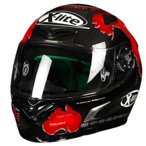 バイク ヘルメット フルフェイス ノラン / X-ライト X-802RR ウルトラカーボン カルロス チェカ|vio0009