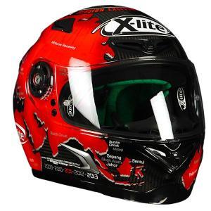 バイク ヘルメット フルフェイス ノラン / X-ライト X-802RR ウルトラカーボン カルロス チェカ|vio0009|02