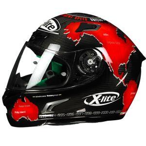 バイク ヘルメット フルフェイス ノラン / X-ライト X-802RR ウルトラカーボン カルロス チェカ|vio0009|03