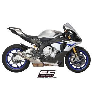 バイク マフラー SCプロジェクト ヤマハ YZF R-1 / R-1M 15-16 CRTサイレンサー スリップオン vio0009 02