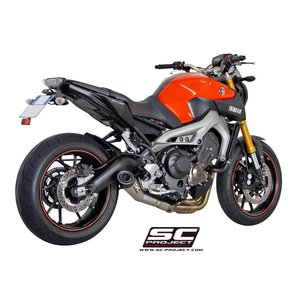 バイク マフラー SCプロジェク ヤマハ MT-09 FZ-09 コニカルサイレンサー フルエキゾーストシステム|vio0009