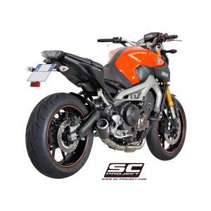 バイク マフラー SCプロジェク ヤマハ MT-09 FZ-09 CRTタイプサイレンサー フルエキゾーストシステム|vio0009