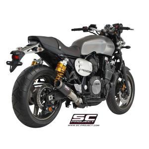バイク マフラー SCプロジェク ヤマハ XJR 1300 / RACER CRTサイレンサー スリップオン|vio0009