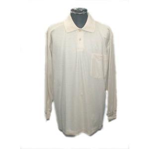【訳あり】LANCEL 長袖ポロシャツ LB(LL) 4647 ランセル|vip