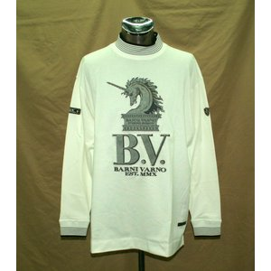 限定特価40%OFF  バーニヴァーノ 長袖 ハイネック Tシャツ L 2797 BARNI VARNO vip