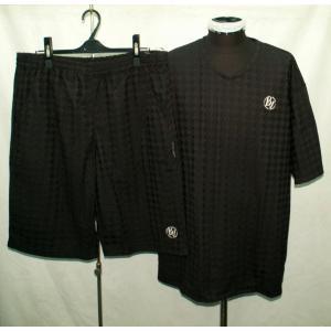 2021春夏 新作 バーニヴァーノ 半袖Tシャツ、ショーツ 上下セット 3L 3763 BARNI VARNO|vip