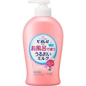 【■花王 ビオレu お風呂で使ううるおいミルク フローラルの香り 300mL (ボディミルク)】  ...