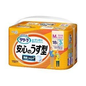 花王 リリーフ パンツタイプ 安心のうす型 M - Lサイズ 18枚入 (介護用おむつ)|viqol