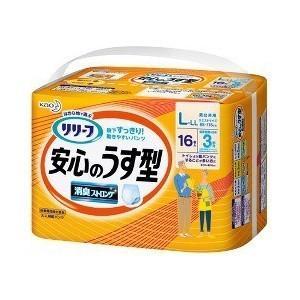 花王 リリーフ パンツタイプ 安心のうす型 L - LLサイズ 16枚入 (介護用おむつ)|viqol
